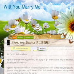 blog willyoumarryme2010