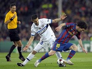 Barca-Inter Leg 2 Semi Final