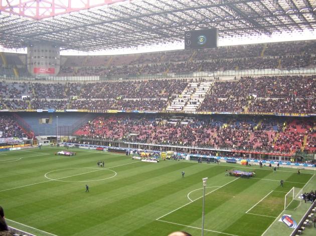 Beberapa jam sebelumnya - Stadion San Siro