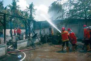 ledakan tabung gas