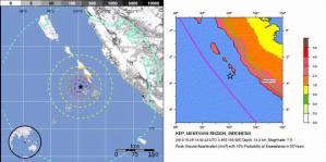 Gempa Sumbar 25 Oktober 2010