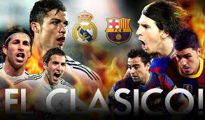 El Clasico Madrid-Barca