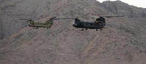 Helikopter Chinook yang menyerang Osama