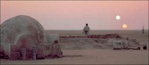 Luke Skywalker in Tatooine