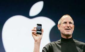 Steve Jobs and iPhone launch