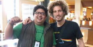 The moment with Marco Simoncelli