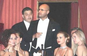 Saif Khadafy and the Girls